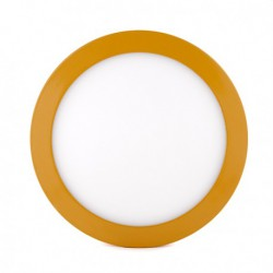 Plafón COLORES Circular Superficie Ø215Mm 18W