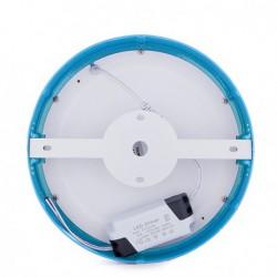Plafón COLORES Circular Superficie Ø215Mm 18W