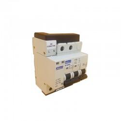 Protector sobretensiónes transitorias y permanentes + IGA 2x25A 10kA