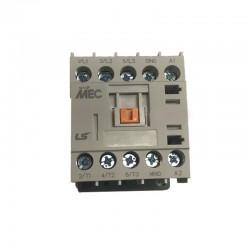 Minicontactor 9A bobina 230Vac contacto auxiliar abierto NA - LSis