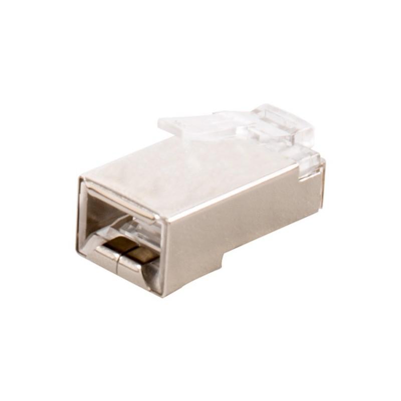 Conector RJ45 FTP Blindado