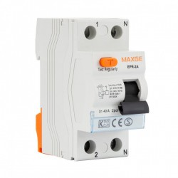Interruptor Diferencial Industrial MAXGE 2P-300mA-Clase A-10kA Superinmunizado