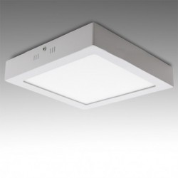 Plafón LED Cuadrado Superficie 300Mm 24W 1900Lm 30.000H