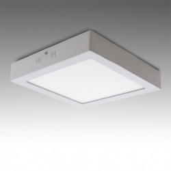 Plafón LED Cuadrado Superficie 12w