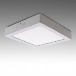 Plafón LED Cuadrado Superficie 18w