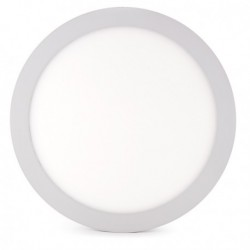 Plafón LED 24w Circular Superficie Ø295Mm 1900Lm 30.000H