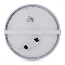 Plafón 18w circular de Techo Ø225Mm 1190Lm 30.000H